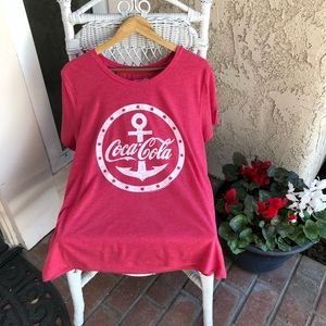 OLD NAVY Plus Size Red Coca Cola Graphic Tee XXL